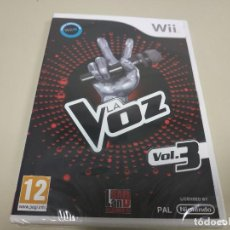 Videojuegos y Consolas: JJ-LA VOZ VOL.3 WII VERSION ESPAÑA PRECINTADO PROCEDE STOCK Nº 2. Lote 171115363