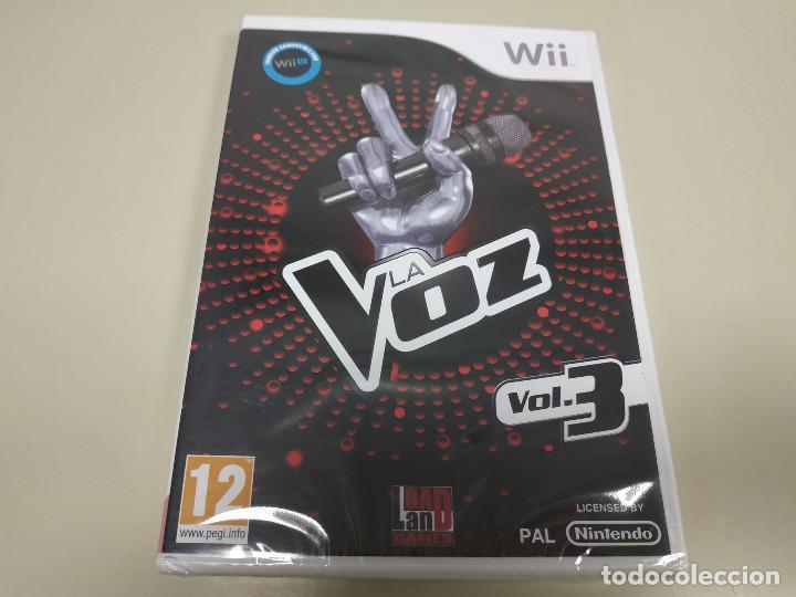 JJ-LA VOZ VOL.3 WII VERSION ESPAÑA PRECINTADO PROCEDE STOCK Nº 1 (Juguetes - Videojuegos y Consolas - Nintendo - Wii)