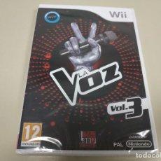 Videojuegos y Consolas: JJ-LA VOZ VOL.3 WII VERSION ESPAÑA PRECINTADO PROCEDE STOCK Nº 1. Lote 171115445