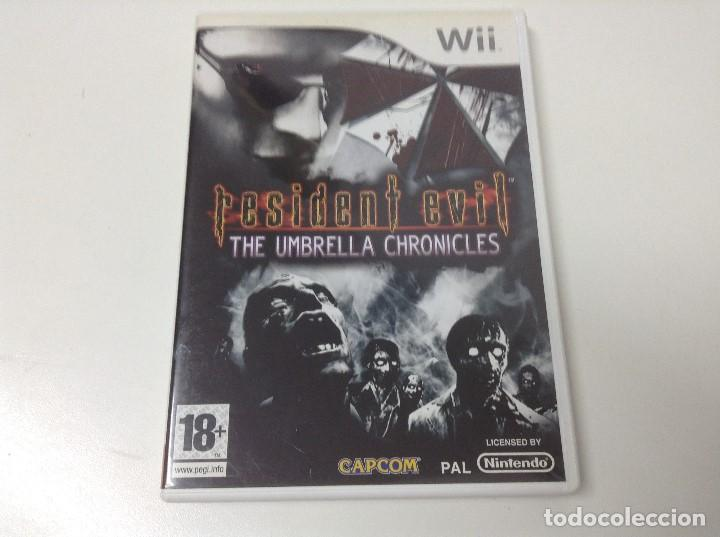 RESIDENT EVIL THE UMBRELLA CHRONICLES (Juguetes - Videojuegos y Consolas - Nintendo - Wii)