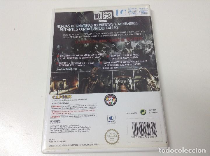 Videojuegos y Consolas: RESIDENT EVIL THE UMBRELLA CHRONICLES - Foto 2 - 171116280