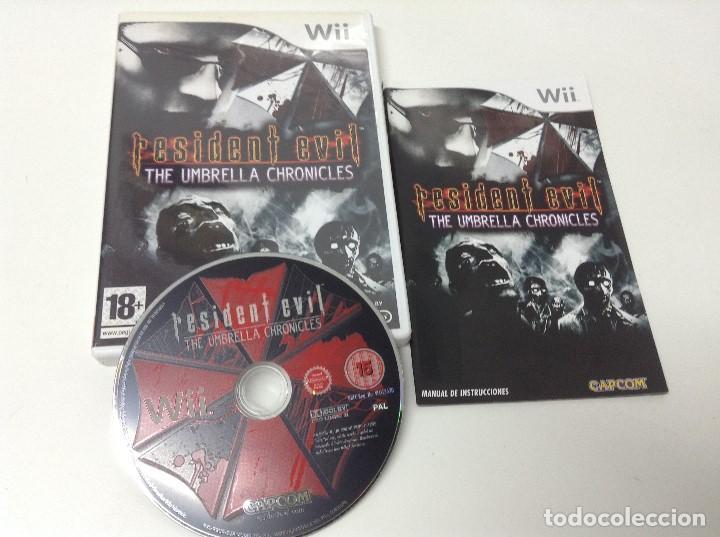 Videojuegos y Consolas: RESIDENT EVIL THE UMBRELLA CHRONICLES - Foto 3 - 171116280
