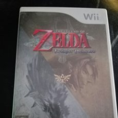 Videojuegos y Consolas: JUEGO WII THE LEGEND OF ZELDA TWILIGHT PRINCESS. Lote 171128527