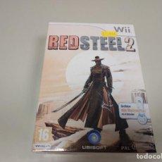 Videojuegos y Consolas: JJ- RED STEEL 2 NINTENDO WII VERSION ESPAÑA NUEVO PRECINTADO . Lote 171608324