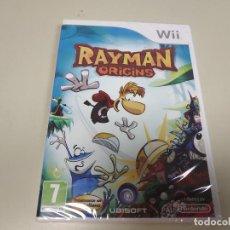 Videojuegos y Consolas: JJ-RAYMAN ORIGINS NINTENDO WII VERSION ESPAÑA NUEVO PRECINTADO. Lote 171616930