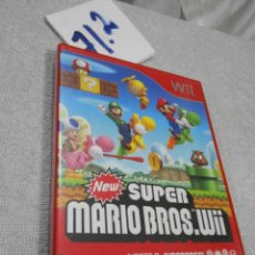 Videojuegos y Consolas: SUPER MARIO BROSS WII. Lote 171710445
