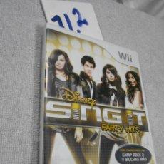 Videojuegos y Consolas: JUEGO WII - DISNEY SING IT. Lote 171710952