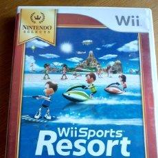 Videojuegos y Consolas: WII SPORTS RESORT PAL ESPAÑA COMO NUEVO . Lote 172212075
