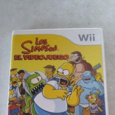Videojuegos y Consolas: SIMPSON EL VIDEOJUEGO NINTENDO WII PAL ESPAÑA COMPLETO. Lote 172683673