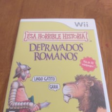 Videojuegos y Consolas: ESA HORRIBLE HISTORIA: DEPRAVADOS ROMANOS. Lote 172960950
