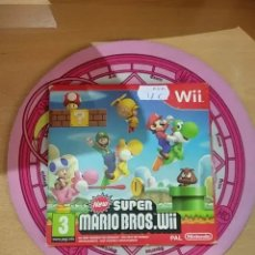 Videojuegos y Consolas: NEW SUPER MARIO BROS WII, EDICIÓN CARTÓN. Lote 172994458