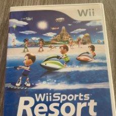Videojuegos y Consolas: WII SPORTS RESORT WII PAL COMPLETO. Lote 174038107
