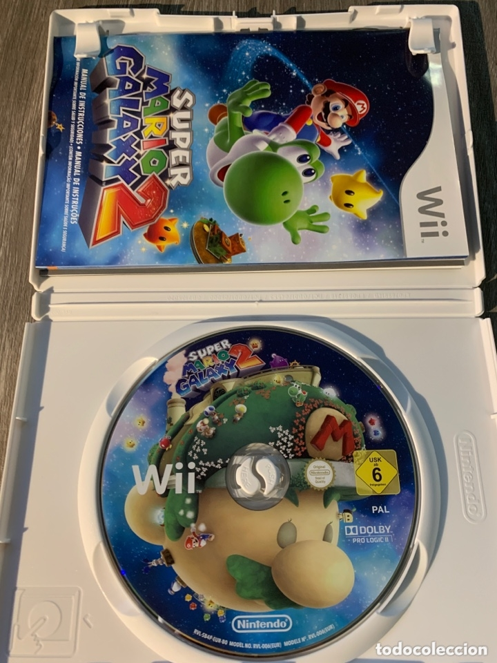Super mario galaxy 2 wii pal completo - Sold through Direct