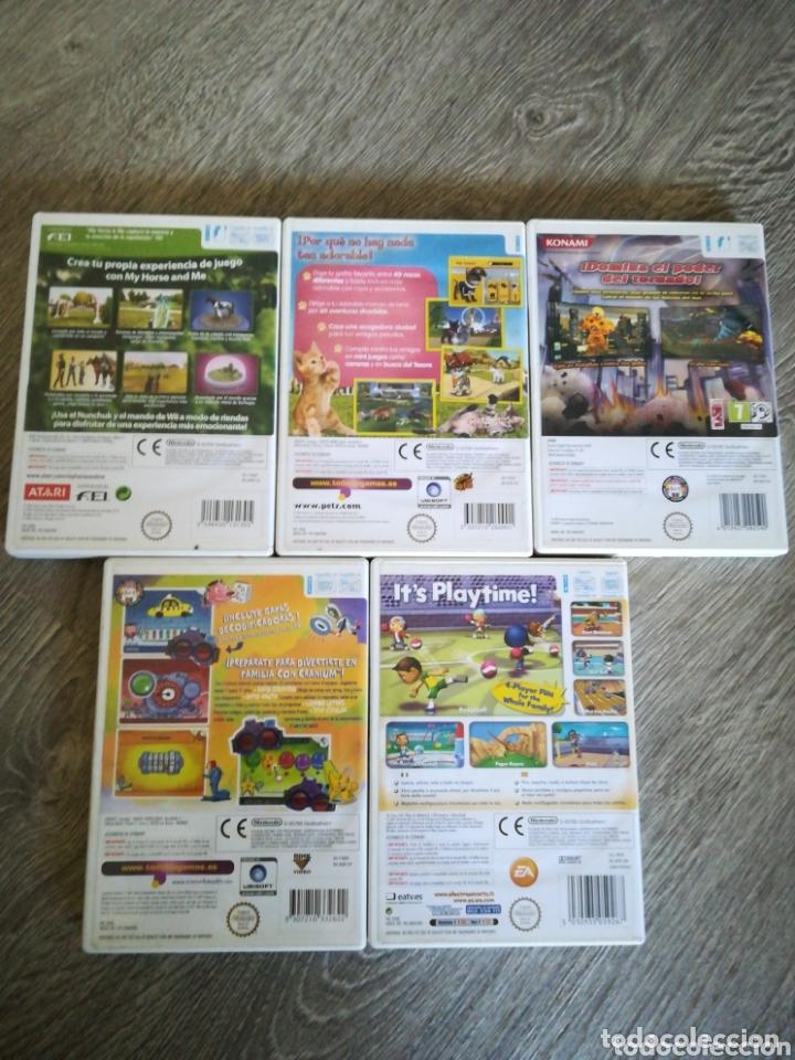 Videojuegos y Consolas: 5 juegos wii - Foto 3 - 174075808