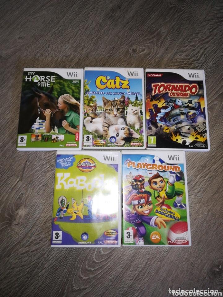 5 JUEGOS WII (Juguetes - Videojuegos y Consolas - Nintendo - Wii)