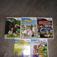 Videojuegos y Consolas: 5 JUEGOS WII. Lote 174075808
