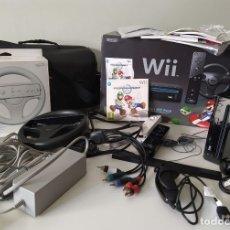 Videojuegos y Consolas: CONSOLA NINTENDO WII + EXTRAS . Lote 174180042