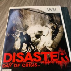 Videojuegos y Consolas: DISASTER DAY OF CRISIS WII PAL COMPLETO. Lote 174475197