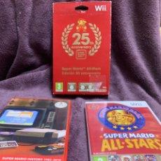 Videojuegos y Consolas: SUPER MARIO ALL STARS EDICION 25 ANIVERSARIO WII PAL COMPLETO. Lote 174590387