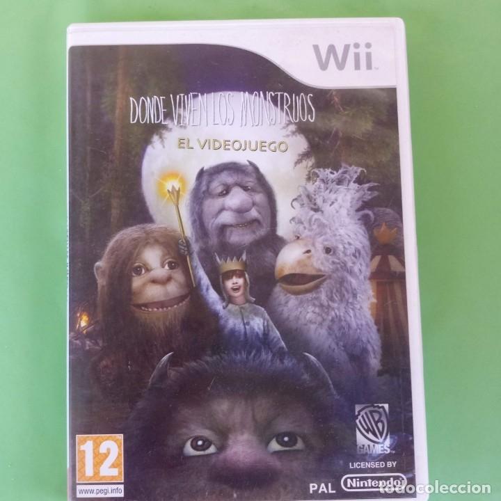DONDE VIVEN LOS MONSTRUOS WII (Juguetes - Videojuegos y Consolas - Nintendo - Wii)