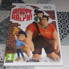 Videojuegos y Consolas: ROMPE RALPH NINTENDO WII PAL ESPAÑA COMPLETO. Lote 175951200
