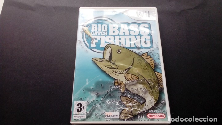 JUEGO BIG CATCH BASS FISHING NINTENDO WII NO GAMECUBE NO DS (Juguetes - Videojuegos y Consolas - Nintendo - Wii)