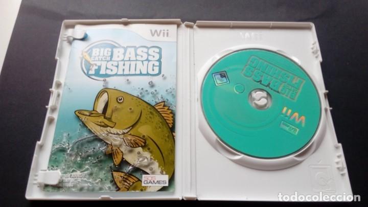 Videojuegos y Consolas: Juego Big catch bass fishing Nintendo wii no GameCube no DS - Foto 2 - 176169215