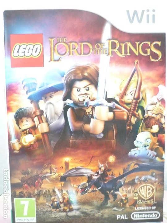 WII LEGO THE LORD OF THE RINGS. (Juguetes - Videojuegos y Consolas - Nintendo - Wii)