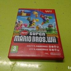 Videojuegos y Consolas: JUEGO NEW SUPER MARIO BROS WII, NINTENDO. Lote 176496777