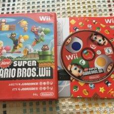 Videojuegos y Consolas: NEW SUPER MARIO BROS WII NINTENDO KREATEN. Lote 176913680