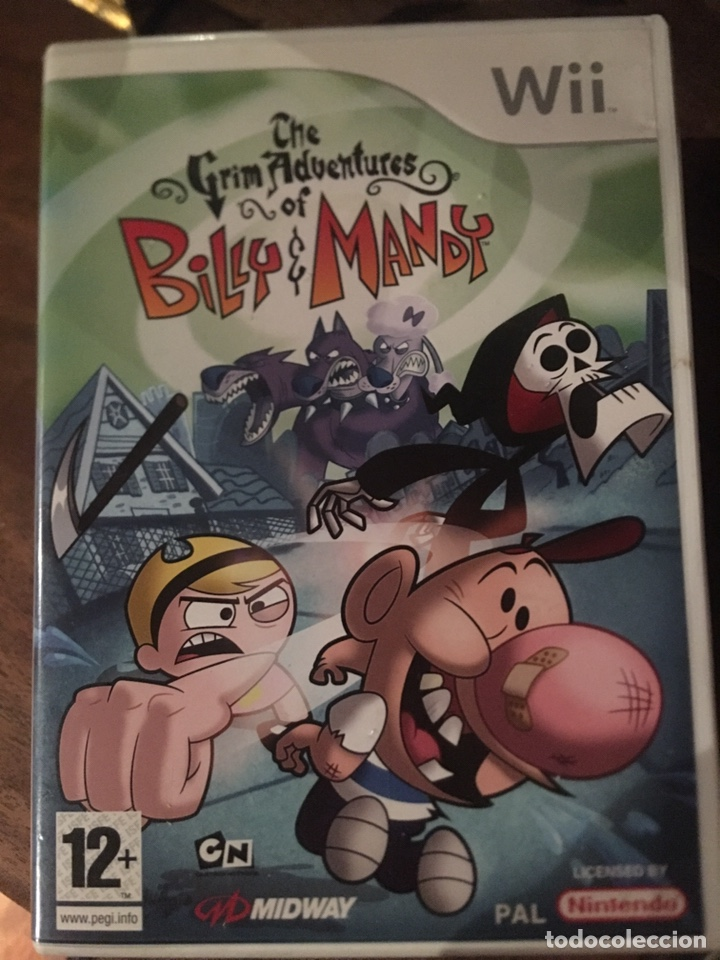 Videojuegos y Consolas: JUEGO WII BILLY E MANDY - THE GRIM ADVENTURES - Foto 1 - 177755147