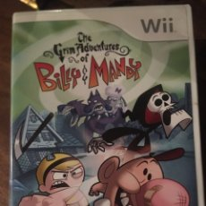 Videojuegos y Consolas: JUEGO WII BILLY E MANDY - THE GRIM ADVENTURES. Lote 177755147