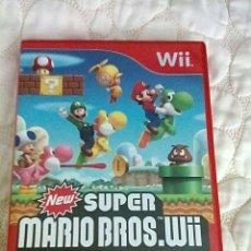 Videojuegos y Consolas: NEW SUPER MARIO BROS WII. Lote 178291485