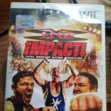 Videojuegos y Consolas: TNA IMPACTO TOTAL WRESLING NINTENDO WII. Lote 179132213