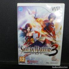 Videojuegos y Consolas: NINTENDO WII SAMURAI WARRIORS 3. Lote 179166198