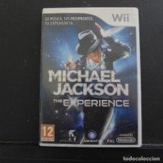 Videojuegos y Consolas: JUEGO PARA NINTENDO WII MICHAEL JACKSON THE EXPERIENCE. Lote 179198467