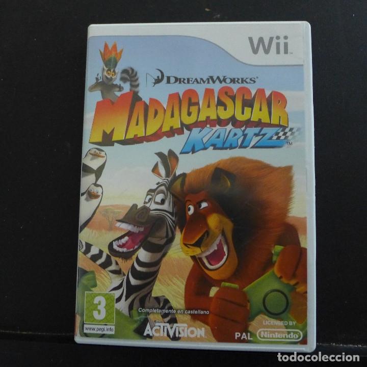 Videojuegos y Consolas: JUEGO PARA NINTENDO WII MADAGASCAR KARTZ - Foto 2 - 179200732