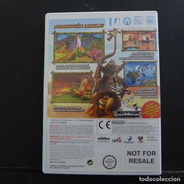Videojuegos y Consolas: JUEGO PARA NINTENDO WII MADAGASCAR KARTZ - Foto 3 - 179200732
