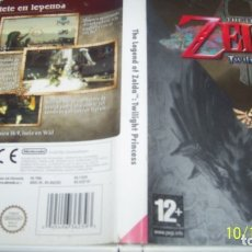 Videojuegos y Consolas: THE-LEGEND-OF-ZELDA-TWILIGHT-PRINCESS-WII-. Lote 135066502