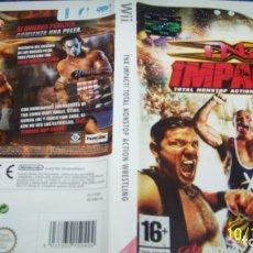 Videojuegos y Consolas: TNA IMPACTO TOTAL WRESTLING PAL ESP NINTENDO WII. Lote 179550385