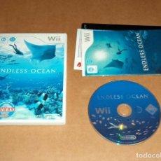 Videojuegos y Consolas: ENDLESS OCEAN PARA NINTENDO WII, PAL. Lote 179947742
