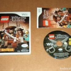 Videojuegos y Consolas: LEGO : PIRATAS DEL CARIBE PARA NINTENDO WII, PAL. Lote 179950160