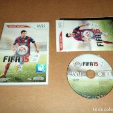 Videojuegos y Consolas: FIFA 15 PARA NINTENDO WII, PAL. Lote 179950376
