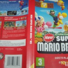 Videojuegos y Consolas: NEW SUPER MARIO BROS WII PAL ESP. Lote 180030660