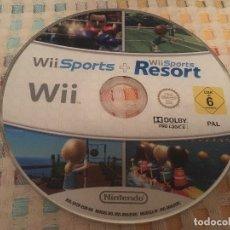 Videojuegos y Consolas: WII SPORTS + WII SPORTS RESORT NINTENDO KREATEN 2 EN 1. Lote 180134183