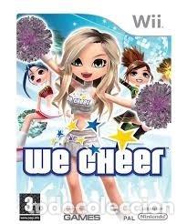 LOTE OFERTA JUEGO NINTENDO WII - WE CHEER - MUY NUEVO Y CON MANUAL (Juguetes - Videojuegos y Consolas - Nintendo - Wii)
