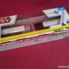 Videojuegos y Consolas: STAR WARS - SABLE LASER PARA WII. Lote 180452745