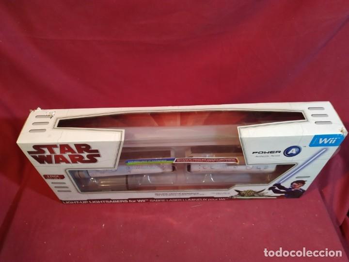 Videojuegos y Consolas: STAR WARS - SABLE LASER para WII - Foto 3 - 180452745