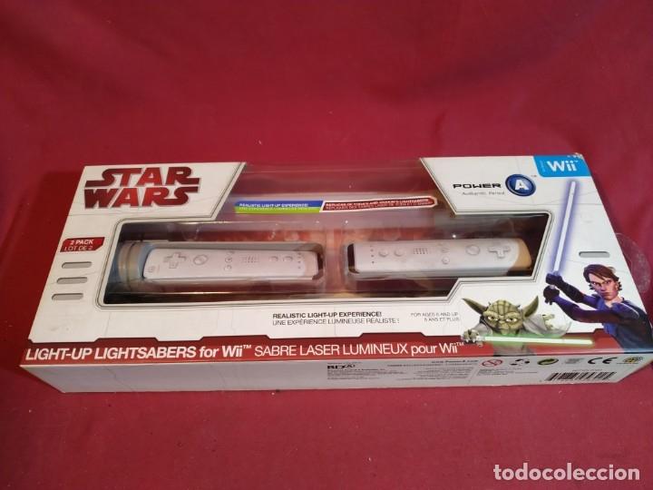 Videojuegos y Consolas: STAR WARS - SABLE LASER para WII - Foto 7 - 180452745
