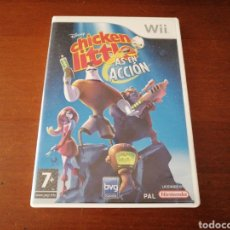 Videojuegos y Consolas: WII CHICKEN LITTLE AS EN ACCIÓN DISNEY. Lote 181192731